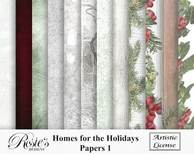 Homes For The Holidays Papers 1 Artistic License