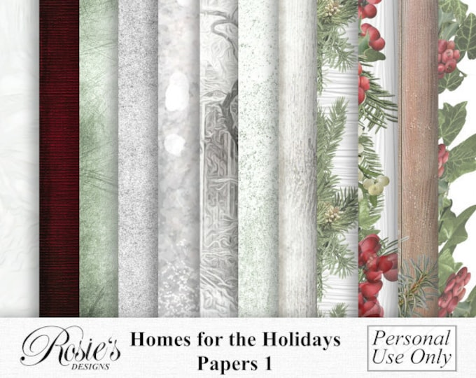 Homes For The Holidays Papers 1