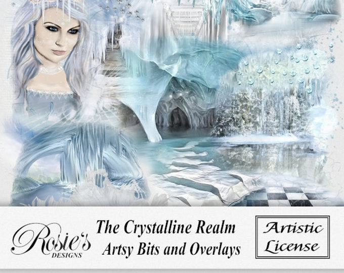 The Crystalline Realm Artsy Bits and Overlays Artistic License