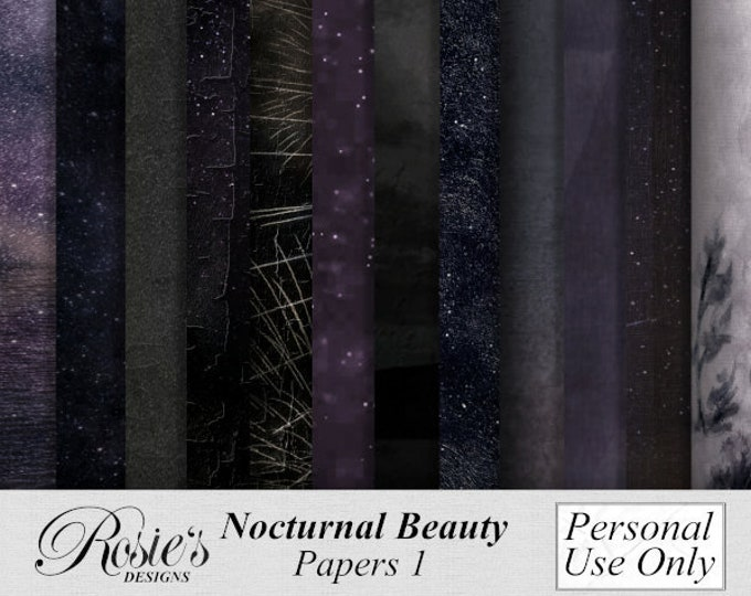 Nocturnal Beauty Papers 1 Personal Use