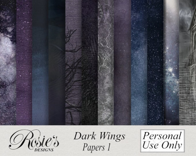 Dark Wings Papers 1 Personal Use
