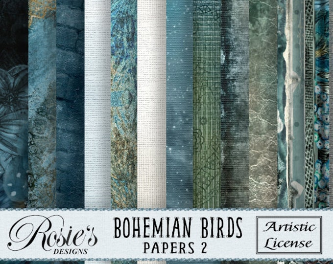 Bohemian Birds Papers 2 Artistic License