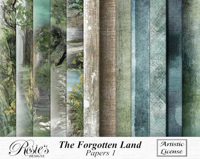 The Forgotten Land Papers 1 Artistic License