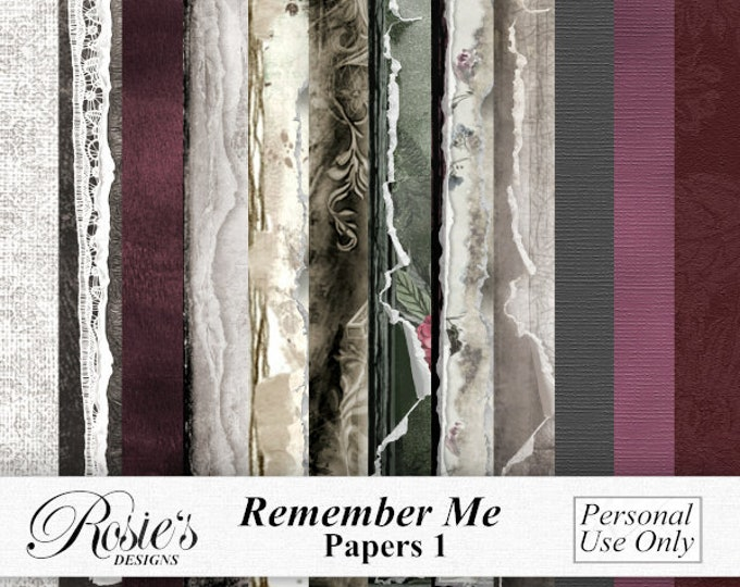 Remember Me Papers 1 Personal Use