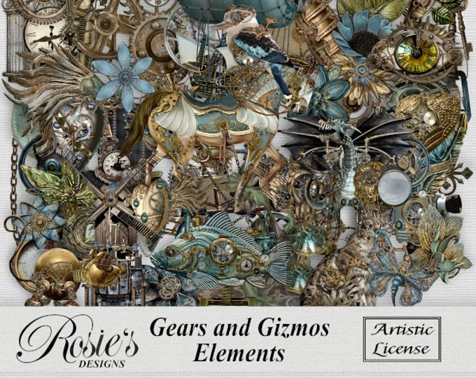 Gears and Gizmos Elements Artistic License