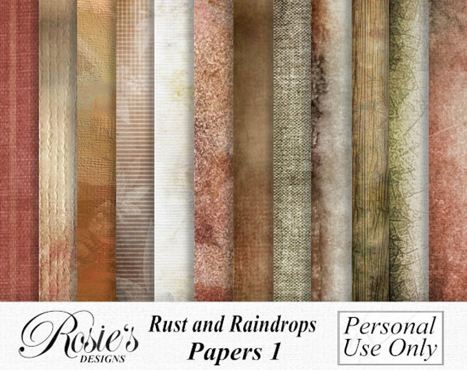 Rust and Raindrops Papers 1