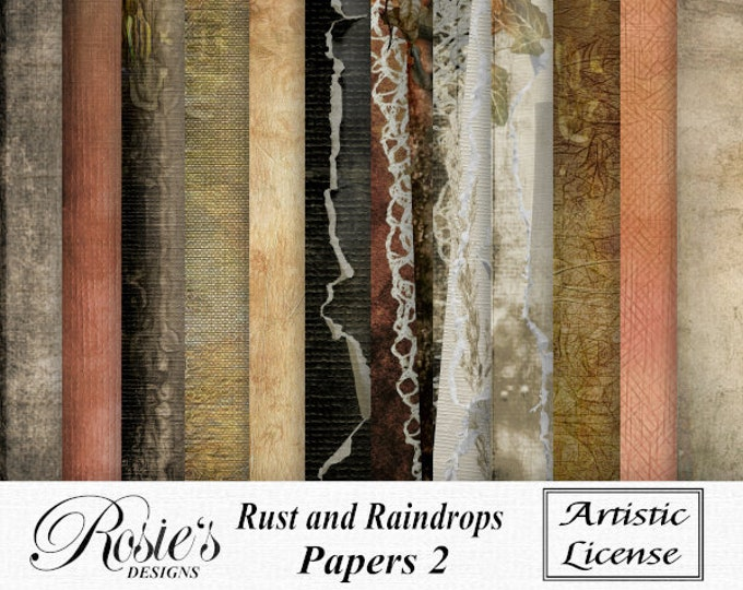 Rust and Raindrops Paper 2 Artistic License