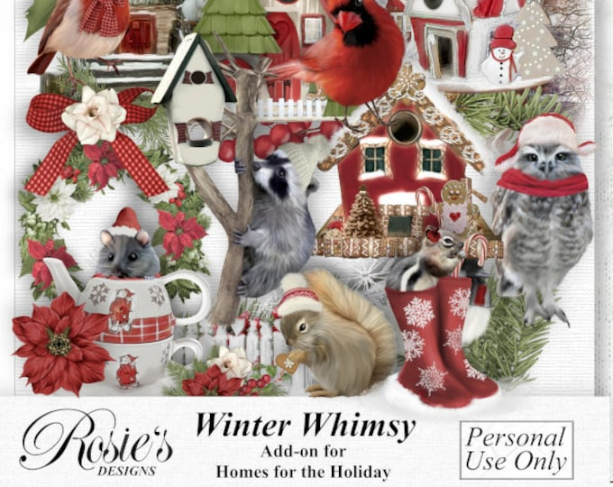 Winter Whimsy Personal Use