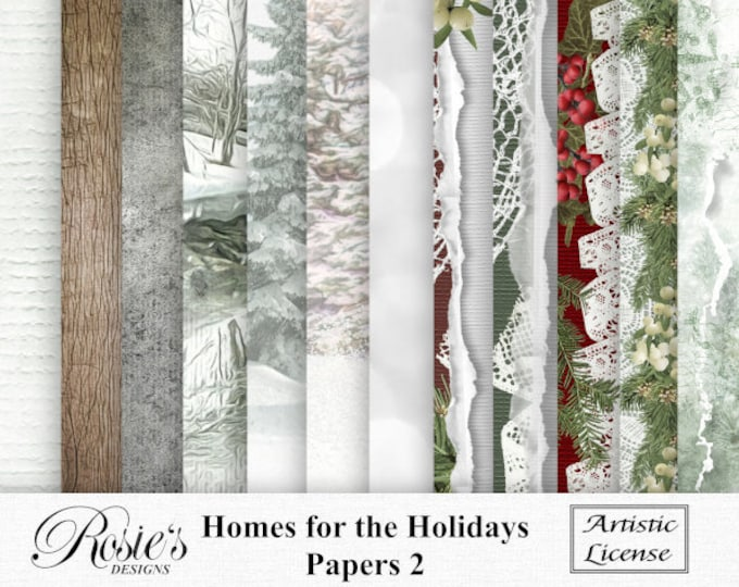 Homes For The Holidays Papers 2 Artistic License