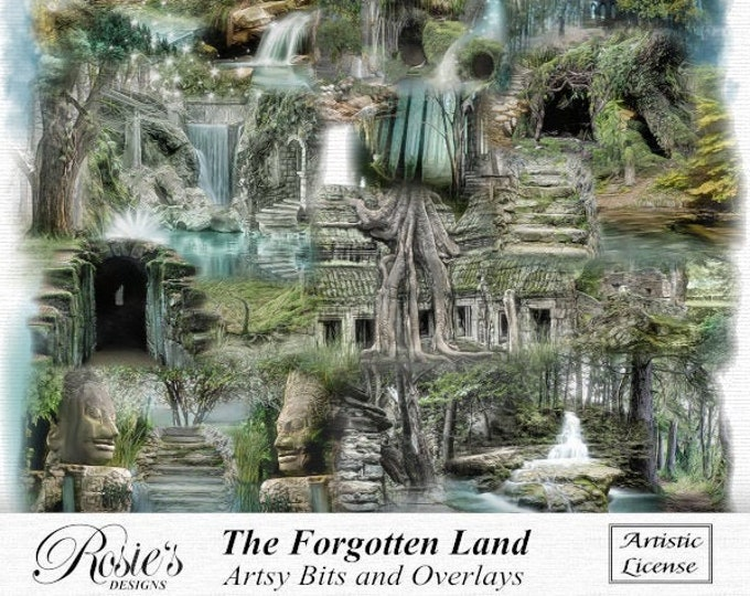 The Forgotten Land Artsy Bits and Overlays Artistic License