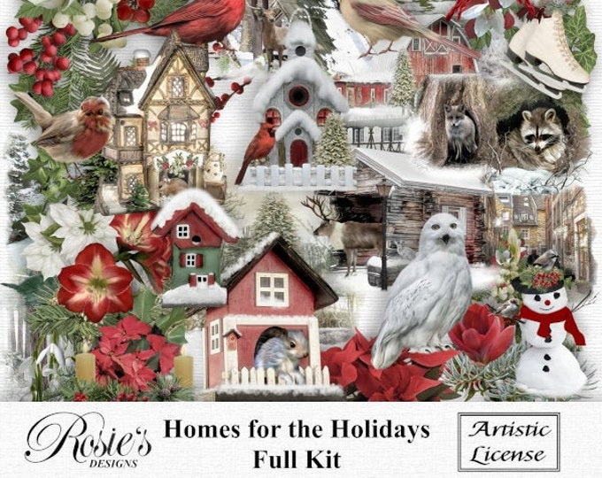 Homes For The Holidays Kit Artistic License