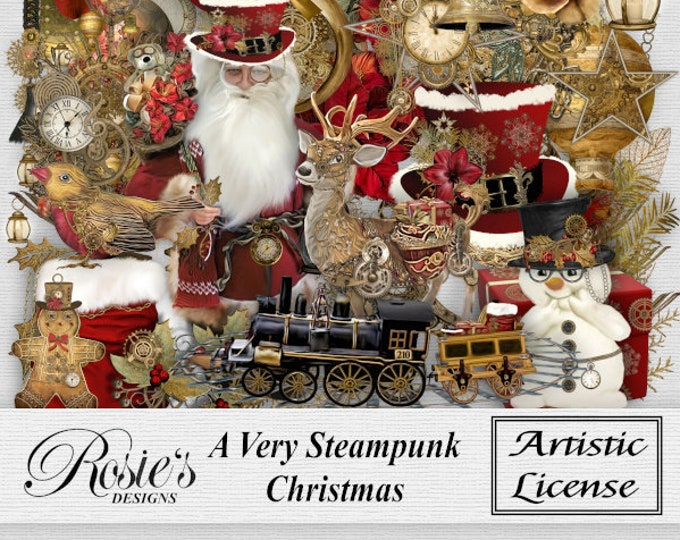 A Very Steampunk Christmas Elements Artistic License