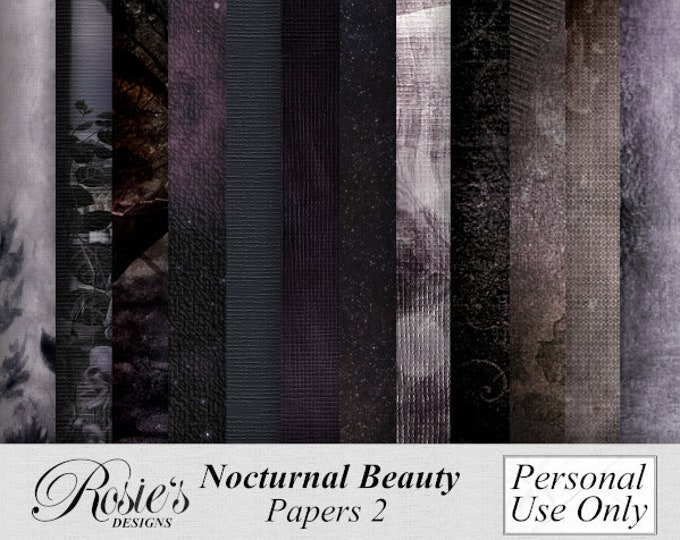 Nocturnal Beauty Papers 2 Personal use