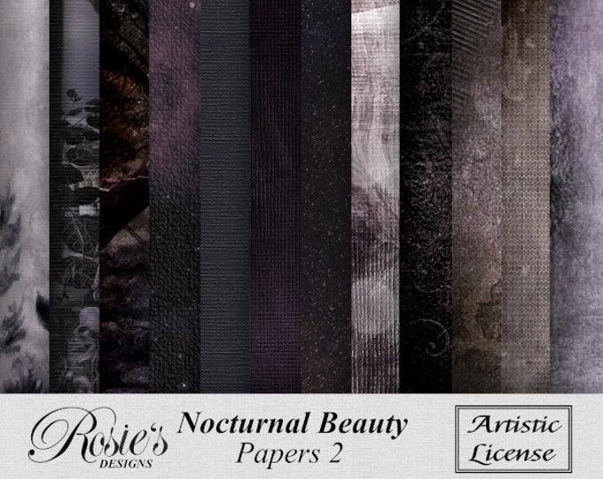 Nocturnal Beauty Papers 2 Artistic License