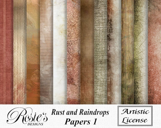 Rust and Raindrops Papers 1 Artistic License