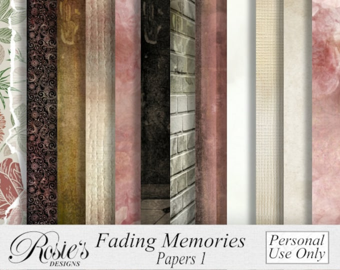Fading Memories Papers 1