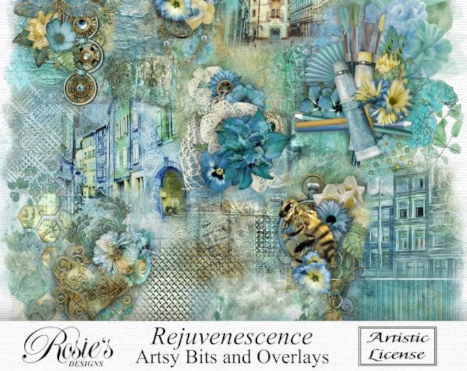 Rejuvenescence Artsy Bits And Overlays Artistic License
