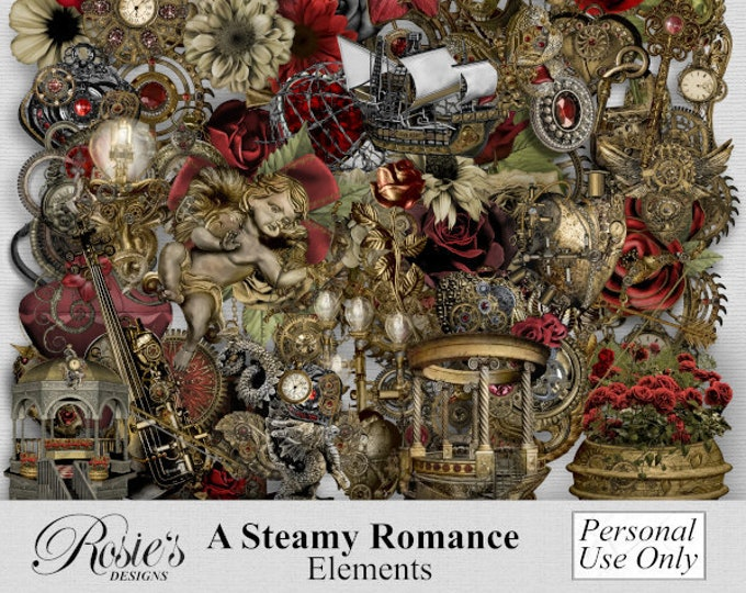 A Steamy Romance Elements Personal Use