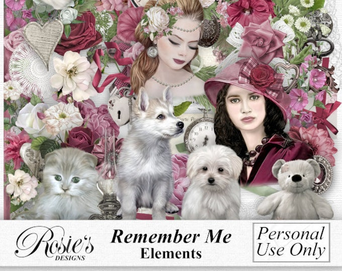 Remember Me Elements Personal Use