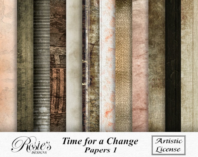 Time For A Change Papers 1 Artistic License