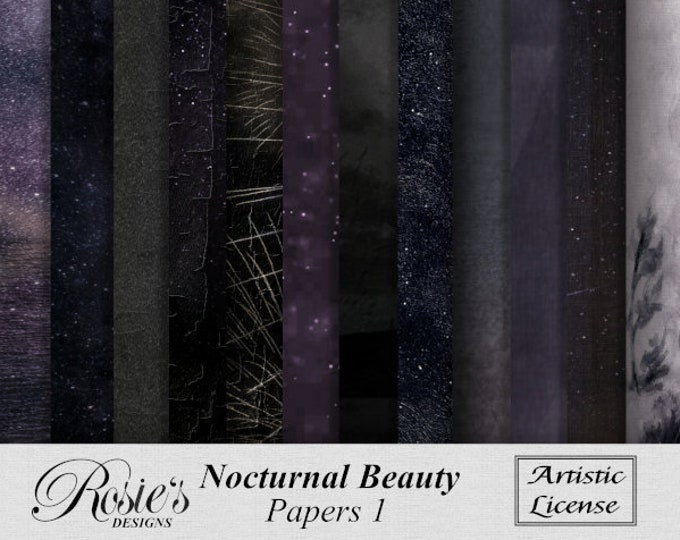 Nocturnal Beauty Papers 1 Artistic License