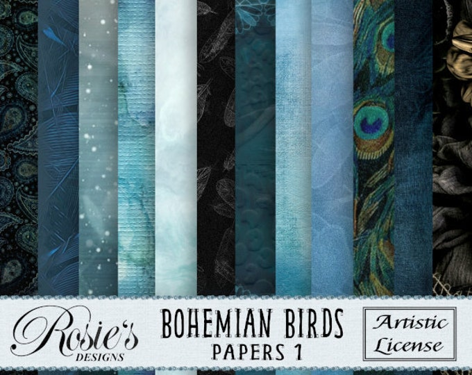 Bohemian Birds Papers 1 Artistic License