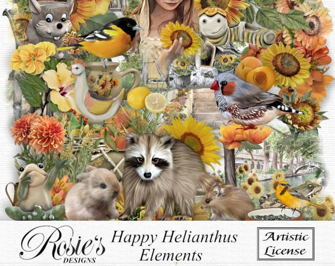 Happy Helianthus Elements Artistic License