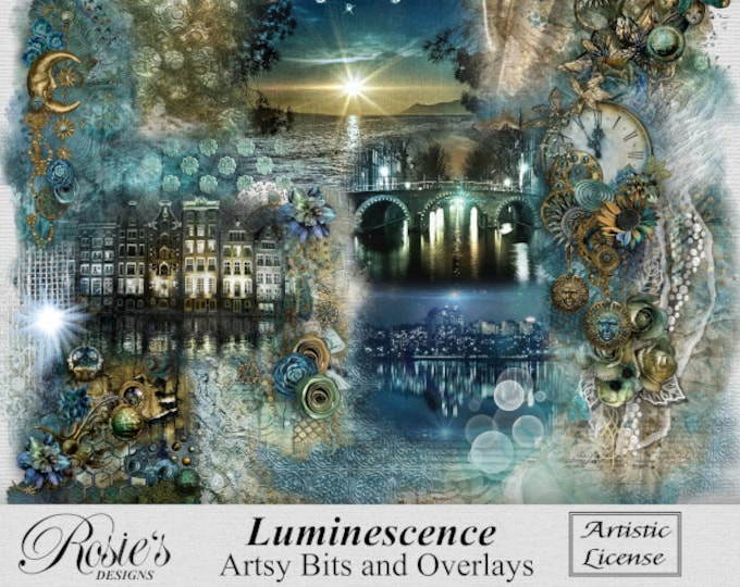 Luminescence Artsy Bits and Overlays Artistic License