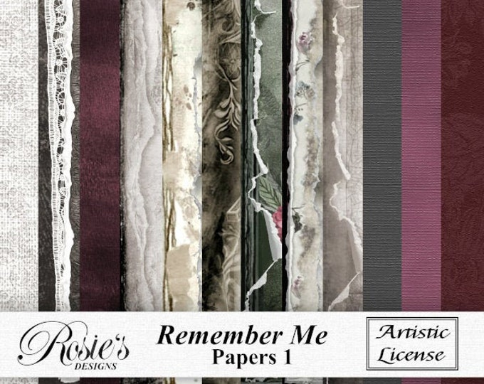 Remember Me Papers 1 Artistic License