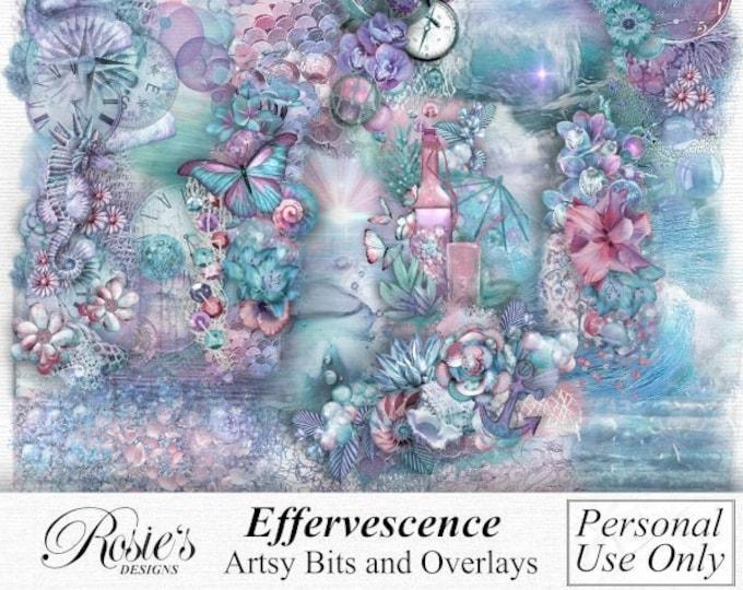 Effervescence Artsy Bits Ans Overlays Personal Use