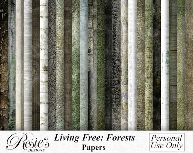 Living Free, Forests. Personal Use