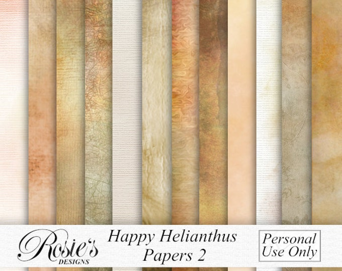 Happy Helianthus Papers 2 Personal Use