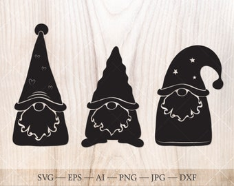 Christmas Gnomes Svg.Christmas Gnome Svg Etsy
