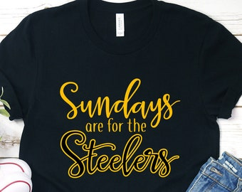 best website 19007 634ff Steelers shirt | Etsy
