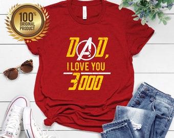 e62403f7 I Love You 3000 Father Son Matching Shirts, Father and Son Gift, Dad and Son  Shirts, Fathers Day Iron Man T Shirt Shirt I Love You 3000 Gift