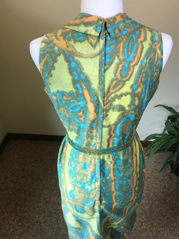 1960s Alfred Shaheen Dress - image 5