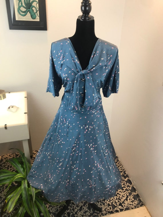 Vintage 1948 Volup :Edna's Spring/Fall Opera Dress