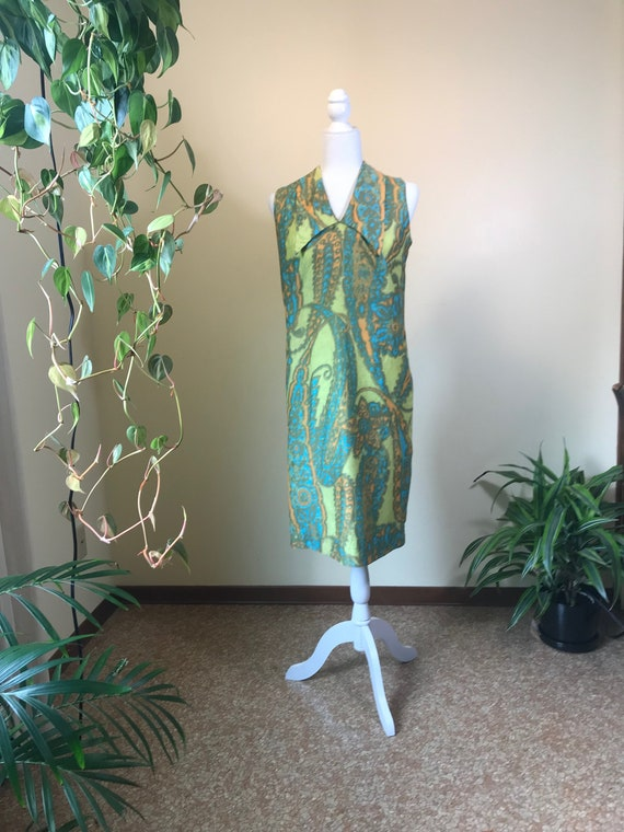1960s Alfred Shaheen Dress - image 4