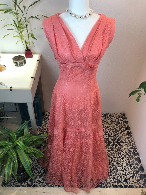 Vintage Emma Domb 1960s Gown