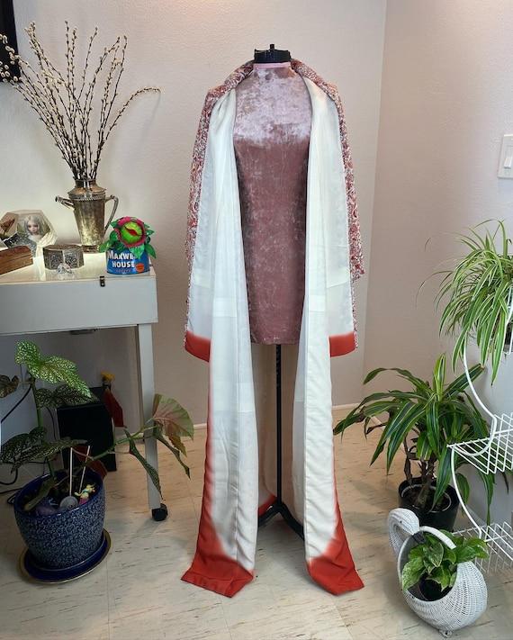 Vintage 1940s Kimono Robe / 40s kimono / 40s robe - image 6