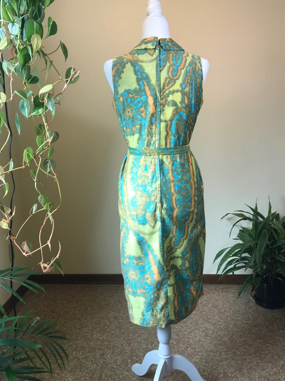 1960s Alfred Shaheen Dress - image 6
