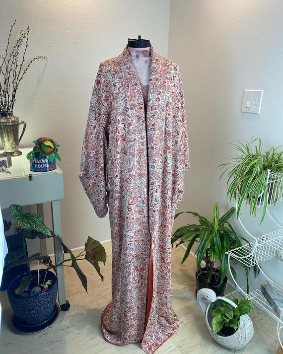 Vintage 1940s Kimono Robe / 40s kimono / 40s robe - image 4