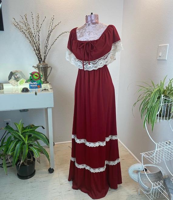 Vintage Romantic Prairie Dress