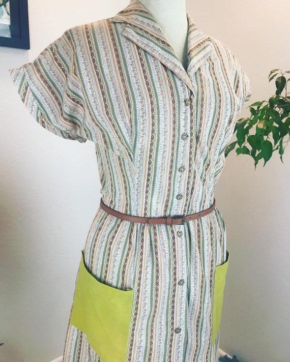 Vintage 1940's Volup Beauty Dress - image 8