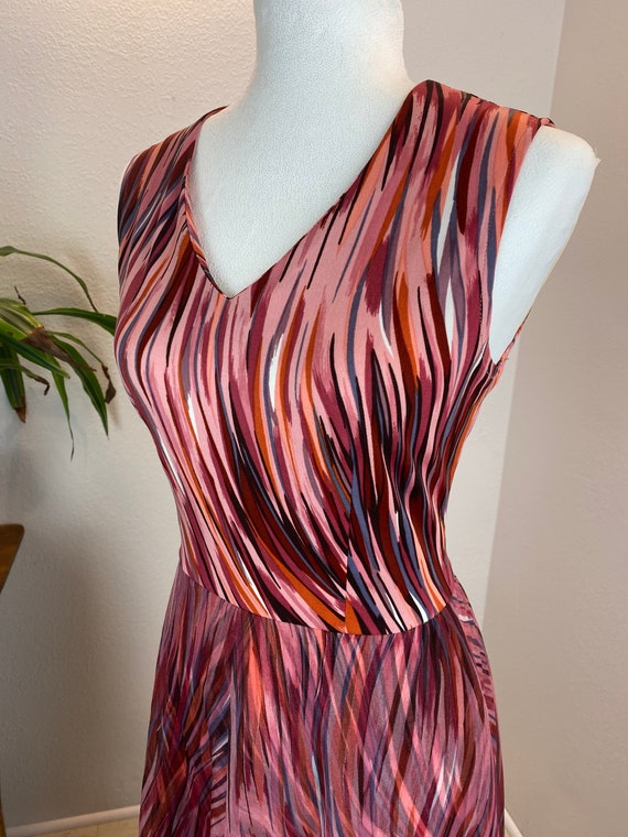 Vintage 1970's Abstract Dress
