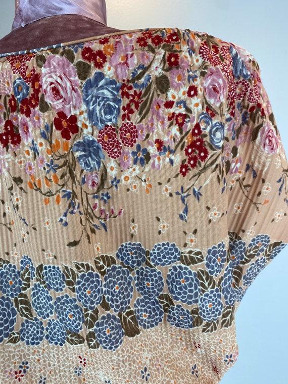 Vintage 1970's Vintage Spring Dress by Julie Mille