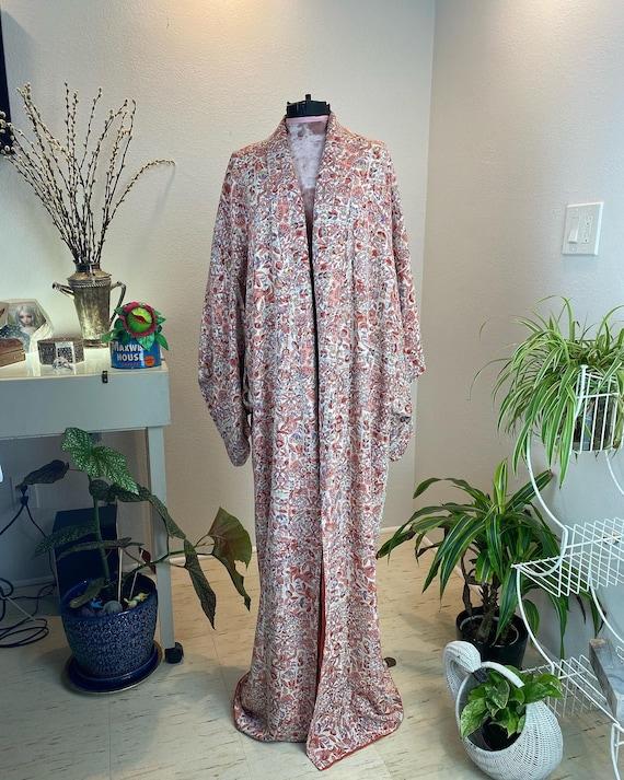 Vintage 1940s Kimono Robe / 40s kimono / 40s robe - image 8