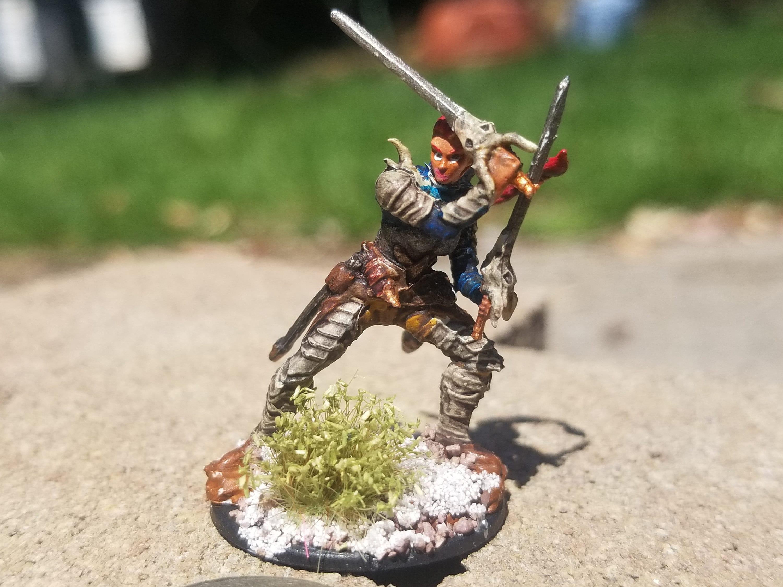 Elven Warrior  D&D/Pathfinder