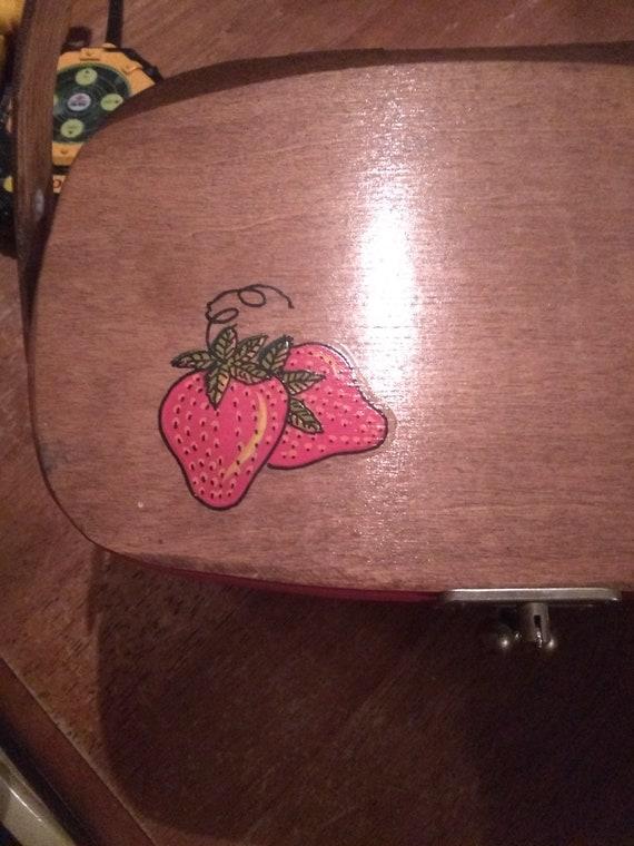 Strawberry box purse