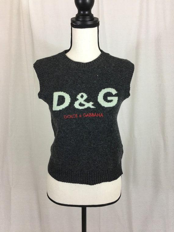 Authentic Vintage Dolce & Gabbana Knit Sweater Ves